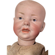 German Bisque Character Dome Head Mold 159 Antique Baby Doll