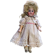 Petit Simon Halbig German Bisque Antique Doll Jointed Straight Wrist Compo Wood Body
