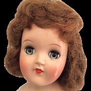 SOLD Vintage Ideal Toni Doll Hard Plastic 1950s
