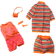 Fun Mod Complete Wild 'n Wooly Francie Doll Outfit Mattel Barbie Cousin