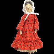 Vintage Wood Jointed Doll