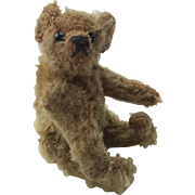 Adorable Miniature Vintage Jointed Teddy Bear Steiff Like
