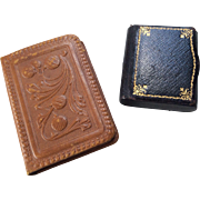 2 Vintage Book Shape Vanity Case Compact Box Accessory for FF Doll
