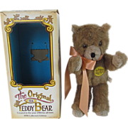The Original Teddy Bear made by Ideal, circa 1978 Collectors Edition in Box