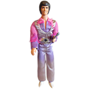 "Vintage 12"" Donny Osmond by Mattel, Original Clothes & Stand, mid-1970s"
