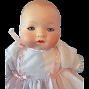 "Adorable 11"" German Bisque Head AM 341 Dream Baby, circa 1920s"