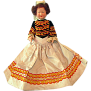 "Fabulous Antique 10 l/2"" Totally Original French All Celluloid Doll, circa 1905"
