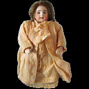 "Antique 4 l/2"" German Marked All Bisque Child Doll, circa 1910"
