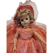"Unmarked 18"" Hard Plastic Doll, Sweet Sue"