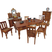 Schneegas Dining Room Furniture ~ 9 Pieces Plus Accessories