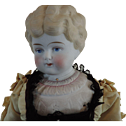 """REDUCED Serene 20"""" Parian Low Brow with Molded Blouse"""