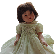 """Cute 15"""" Unmarked Composition Doll"""