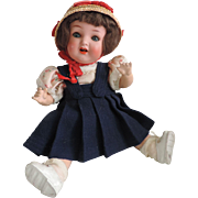 """SOLD A Cutie! - 13"""" HK 342 Painted Bisque Child"""