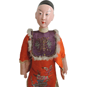 'Chinese Opera Dolls' Original Man, Late 19th/Early 20th Century, Original