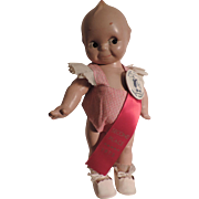 Cameo Kewpie Doll, Original, with Prize Ribbon