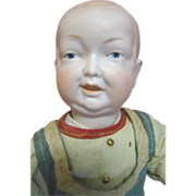 10-1/2 In. German Character Toddler with Extremely Detailed Modeling