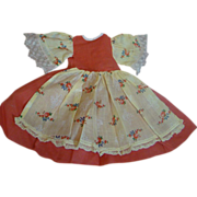 Beautiful Factory Original Dress for Compo or Hard Plastic Doll