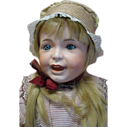 """REDUCED 27 In. French SFBJ Character """"Laughing Jumeau"""" Toddler Mold 236"""