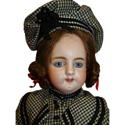 20.5 In. German Simon Halbig Mold #979, Rare Doll, Unusual Facial Expression, Gorgeous Blue ..