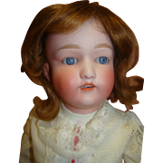 "24 In. Japanese ""Nippon"" Bisque Head Doll on Fully Jointed Composition Body"