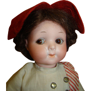 "11.5"" German Googly #200/248 by Armand Marseilles; Original Clothes, Great Expression, Cl"