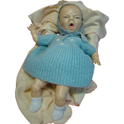 13.5 In. Lifelike Frowning / Crying Character Newborn Baby Doll by Horsman, 1980's Hard ...
