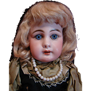 "15"" Model 939 Simon & Halbig Estate Doll, Preserved to the Hilt in Original Clothes, Unde"