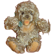 SALE 1950's 10 Inch Shaggy Frosty Mohair German Steiff Zotty Bear, Button and Ear ...