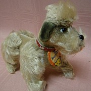 SOLD 1950's German Steiff Snobby the Poodle