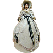 "Unusual ""Telephone Doll"" Cover, Simon Halbig Mold #1160 Head"