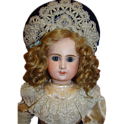 "REDUCED 22"" Scarce Antique French Bebe' Phenix 1889-1900"