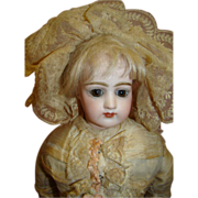 SALE Original 19 In. Portrait Face Jumeau Poupee, So Beautiful!