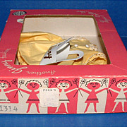 SOLD Vogue Ginny Doll Yellow Dress and Purse in Ginny Box