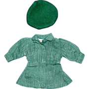 SOLD Tiny Terri Lee Doll Girl Scout Dress and Hat