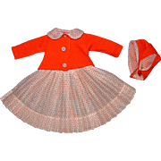 Madame Alexander Lissy Doll Outit - Dress, Jacket and Hat