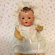 """SOLD 20"""" Effanbee 1930's Dy-Dee Louise Baby -- MOLD 1"""