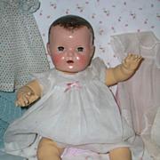 "SALE PENDING 1937 Dy-Dee Lou / Dy-Dee Louise Baby 1ST MOLD 20"" -- w/ Original Layette"