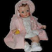 "SOLD IDEAL 20"" Flirty Eye 1930s Princess Beatrix A/O EX~"