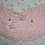 """SOLD Effanbee 15"""" Dy-Dee Jane factory Sweater w/ embroidery"""