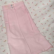 """Vintage VERY RARE Effanbee Dy-Dee Doll PINK Pinning Blanket for your 15"""" Doll"""