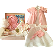 "1930's Effanbee Dy-Dee DELUXE Edition Christening SET for 15"" Dy-Dee Jane"