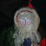 SOLD Hand Crafted Santa Claus  Doll Southern Artist  Christmas Americana