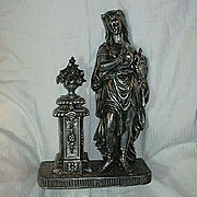 SALE Spelter Statue Mythological Goddess