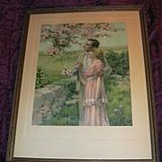Bessie Pease Gutmann Home Builders Framed Print Vintage Art