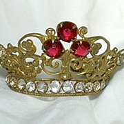 SOLD Jeweled Crown For Saint Santos Religious Statue