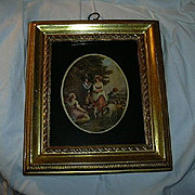 Borghese Gold Framed Art