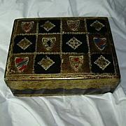 Italian Florentine Box With Shields