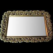 Vintage Fancy Dresser Mirror Tray