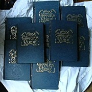 SALE The Works Of Charles Reade 9 Vol Set Circa 1900