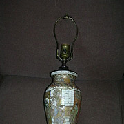 Old Satsuma Vase Lamp